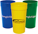 32oz Fluted Stadium Cups
